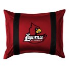"Louisville Cardinals Pillow Sham from ""The Sidelines Collection"" by Kentex"