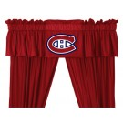 Montreal Canadiens Coordinating Ruffled Valance by Kentex
