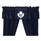 Toronto Maple Leafs Coordinating Ruffled Valance by Kentex