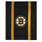 "Boston Bruins Jersey Mesh Twin Comforter from ""The Sidelines Collection"" by Kentex"
