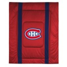 "Montreal Canadiens Jersey Mesh Twin Comforter from ""The Sidelines Collection"" by Kentex"