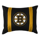 "Boston Bruins Coordinating Pillow Sham from ""The Sidelines Collection"" by Kentex"