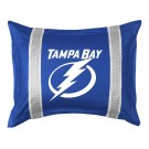 "Tampa Bay Lightning Coordinating Pillow Sham from ""The Sidelines Collection"" by Kentex"