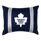 "Toronto Maple Leafs Coordinating Pillow Sham from ""The Sidelines Collection"" by Kentex"