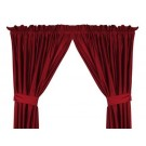 """Louisville Cardinals 63""""L x 82""""W Coordinating Jersey Mesh Tie Back Drape for the Locker Room or Sidelines Collection by Kentex"""