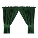 """Miami Hurricanes 63""""L x 82""""W Coordinating Jersey Mesh Tie Back Drape for the Locker Room or Sidelines Collection by Kentex"""