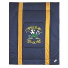 "Notre Dame Fighting Irish Jersey Mesh Full / Queen Comforter from ""The Sidelines Collection"" by Kentex"