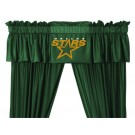 Dallas Stars Coordinating Ruffled Valance by Kentex