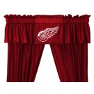 Detroit Red Wings Coordinating Ruffled Valance by Kentex