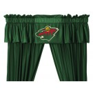 Minnesota Wild Coordinating Ruffled Valance by Kentex