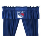 New York Rangers Coordinating Ruffled Valance by Kentex