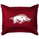 "Arkansas Razorbacks Coordinating Pillow Sham from ""The Locker Room Collection"" by Kentex"