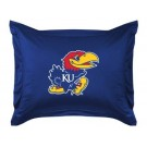 "Kansas Jayhawks Coordinating Pillow Sham from ""The Locker Room Collection"" by Kentex"