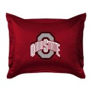 """Ohio State Buckeyes Coordinating Pillow Sham from """"The Locker Room Collection"""" by Kentex"""