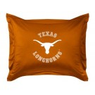 "Texas Longhorns Coordinating Pillow Sham from ""The Locker Room Collection"" by Kentex"