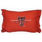 "Texas Tech Red Raiders Coordinating Pillow Sham from ""The Locker Room Collection"" by Kentex"