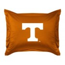"""Tennessee Volunteers Coordinating Pillow Sham from """"The Locker Room Collection"""" by Kentex"""