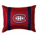 "Montreal Canadiens Coordinating Pillow Sham from ""The Sidelines Collection"" by Kentex"
