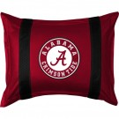 "Alabama Crimson Tide Pillow Sham from ""The Sidelines Collection"" by Kentex"