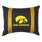 "Iowa Hawkeyes Pillow Sham from ""The Sidelines Collection"" by Kentex"