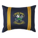 "Notre Dame Fighting Irish Pillow Sham from ""The Sidelines Collection"" by Kentex"