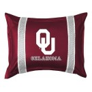 """Oklahoma Sooners Pillow Sham from """"The Sidelines Collection"""" by Kentex"""