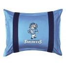 "North Carolina Tar Heels Pillow Sham from ""The Sidelines Collection"" by Kentex"