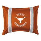 "Texas Longhorns Pillow Sham from ""The Sidelines Collection"" by Kentex"
