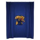Kentucky Wildcats Locker Room Collection Shower Curtain by Kentex