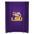 Louisiana State (LSU) Tigers Locker Room Collection Shower Curtain by Kentex