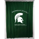Michigan State Spartans Shower Curtain by Kentex
