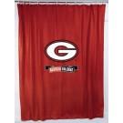Ohio State Buckeyes Locker Room Collection Shower Curtain by Kentex