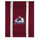 "Colorado Avalanche Jersey Mesh Twin Comforter from ""The Sidelines Collection"" by Kentex"