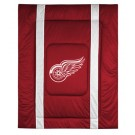 "Detroit Red Wings Jersey Mesh Twin Comforter from ""The Sidelines Collection"" by Kentex"
