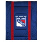 "New York Rangers Jersey Mesh Twin Comforter from ""The Sidelines Collection"" by Kentex"