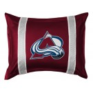 "Colorado Avalanche Coordinating Pillow Sham from ""The Sidelines Collection"" by Kentex"