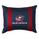 "Columbus Blue Jackets Coordinating Pillow Sham from ""The Sidelines Collection"" by Kentex"