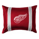 "Detroit Red Wings Coordinating Pillow Sham from ""The Sidelines Collection"" by Kentex"