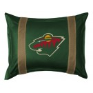 "Minnesota Wild Coordinating Pillow Sham from ""The Sidelines Collection"" by Kentex"