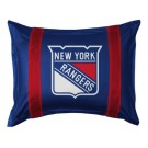 "New York Rangers Coordinating Pillow Sham from ""The Sidelines Collection"" by Kentex"