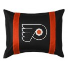 "Philadelphia Flyers Coordinating Pillow Sham from ""The Sidelines Collection"" by Kentex"