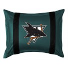 """San Jose Sharks Coordinating Pillow Sham from """"The Sidelines Collection"""" by Kentex"""