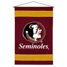 "Florida State Seminoles 29.5"" x 45"" Coordinating NCAA ""Sidelines Collection"" Wall Hanging from Kentex"