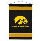"Iowa Hawkeyes 29.5"" x 45"" Coordinating NCAA ""Sidelines Collection"" Wall Hanging from Kentex"