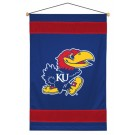 "Kansas Jayhawks 29.5"" x 45"" Coordinating NCAA ""Sidelines Collection"" Wall Hanging from Kentex"