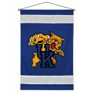 "Kentucky Wildcats 29.5"" x 45"" Coordinating NCAA ""Sidelines Collection"" Wall Hanging from Kentex"