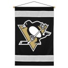 "Pittsburgh Penguins 29.5"" x 45"" Coordinating NHL ""Sidelines Collection"" Wall Hanging from Kentex"