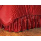 Nebraska Cornhuskers Coordinating Twin Bedskirt for the Locker Room or Sidelines Collection by Kentex