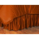 Texas Longhorns Coordinating Twin Bedskirt for the Locker Room or Sidelines Collection by Kentex
