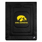 "Iowa Hawkeyes Jersey Mesh Twin Comforter from ""The Locker Room Collection"" by Kentex"